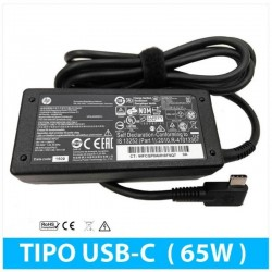 CARREGADOR HP ORIGINAL 65W...