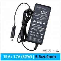 CARREGADOR LCD 19V / 1.7A | 6.5mm x 4.4mm | 32W (07497)