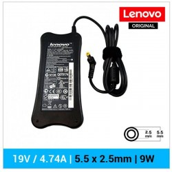 CARREGADOR LENOVO ORIGINAL | 19V / 4.74A | 5.5 x 2.5mm |...