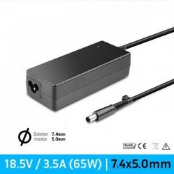 CARREGADOR HP COMPATÍVEL | 18.5V / 3.5A | 7.4 x 5.0mm |...