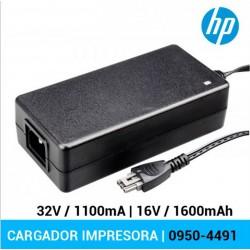 CARREGADOR IMPRESSORA HP | 0957-2175 | 32V / 1100mA...
