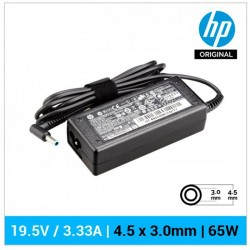 CARREGADOR HP ORIGINAL | 19.5V / 3.33A | 4.5 x 3.0mm |...