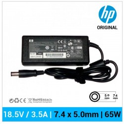 CARREGADOR HP ORIGINAL | 18.5V / 3.5A | 7.4 x 5.0mm |...