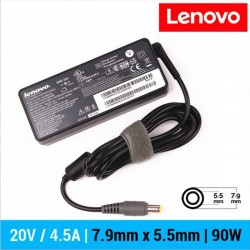 CARREGADOR LENOVO ORIGINAL | 20V / 4.5A | 7.9 x 5.5mm |...
