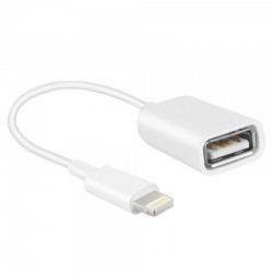 ADAPTADOR APPLE OTG LIGHTNING A USB ( 06984 )